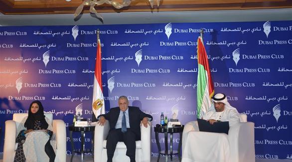محلب: هناك وحدة مصير بين الإمارات ومصر