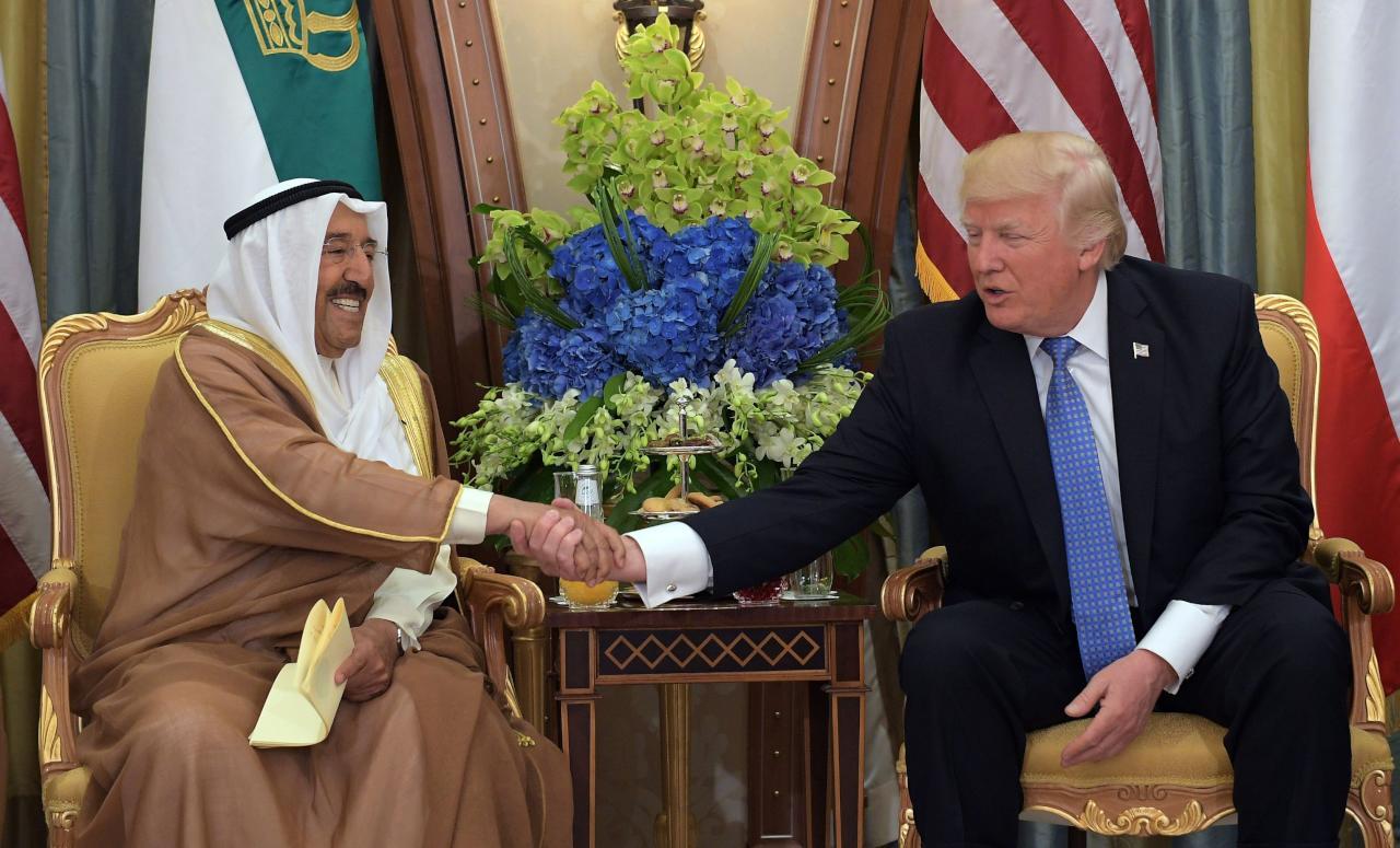 أمير الكويت يزور واشنطن في سبتمبر لأول مرة منذ فوز ترامب