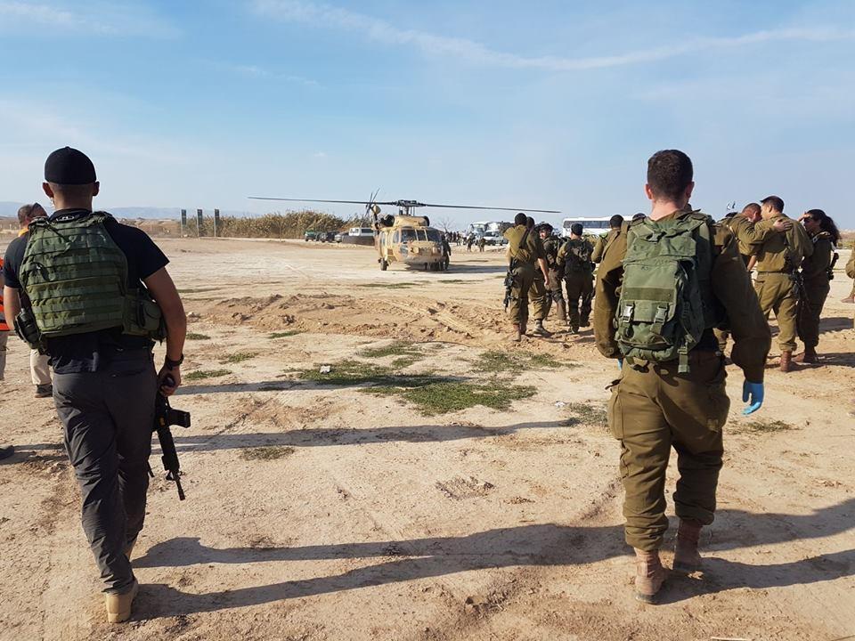 إصابة 7 جنود إسرائيليين بانفجار لغم في غور الأردن