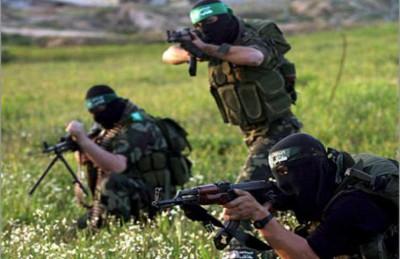 """""""القسام"""" تعرض مناورات مصورة لاقتحام مواقع عسكرية إسرائيلية"""