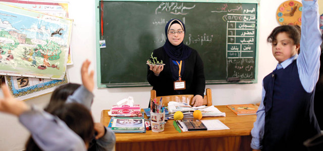 هبة الشرفا.. أول معلمة من المصابين بـ «متلازمة داون»