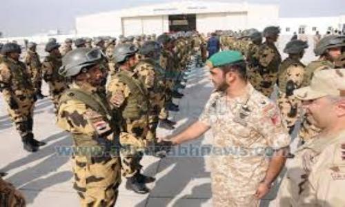تواصل التدريبات المشتركة بين القوات الإماراتية والمصرية