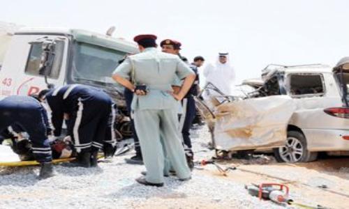 42 وفاة و 415 إصابة ضحايا الحوادث المرورية في رأس الخيمة العام الماضي