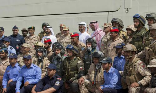 القوات المسلحة الإماراتية المصرية تختتم تدريبها العسكري المشترك  زايد-1