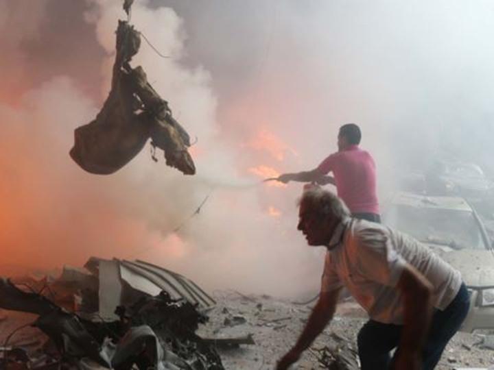 انفجار كبير بجوار سفارة الدولة في ليبيا