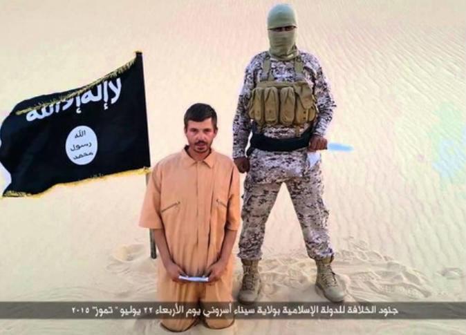 """بعد رفض مطالبه بالإفراج عن سجينات..""""ولاية سيناء"""" يعدم الرهينة الكرواتي"""