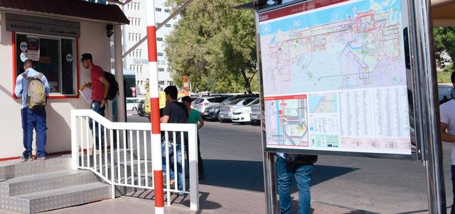 خريطة شاملة لشبكة «النقل الجماعي» ومحطات الحافلات في دبي