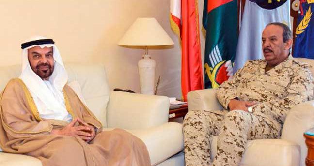 القائد العام لقوة دفاع البحرين يستقبل سفير الدولة لدى المنامة