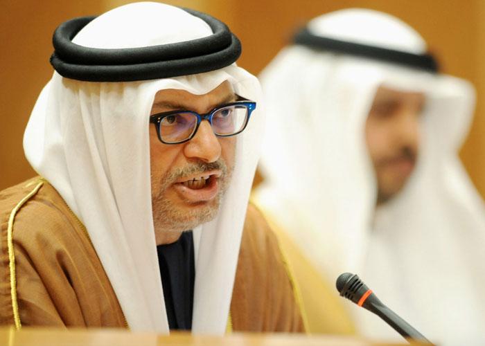 قرقاش يهاجم منتقدي دور الإمارات في المنطقة