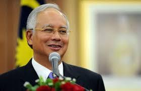 """مكافحة الفساد الماليزية: المبالغ الموجودة في حسابات نجيب """"تبرعات"""""""