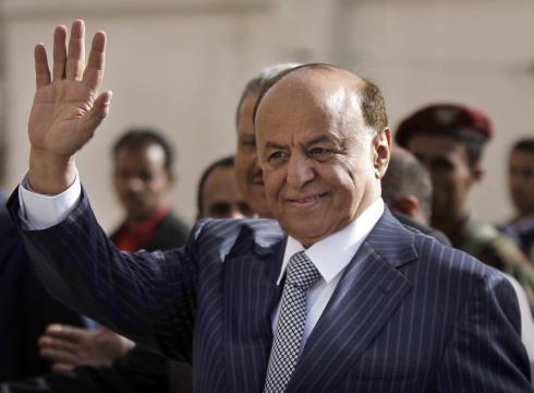 الرئيس اليمني يصل الرياض