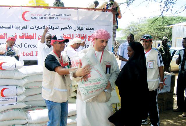 5.2 مليار دولار حجم التبرعات الإماراتية لعام 2013