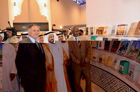 القاسمي يتبرّع بـ 2,5 مليون درهم لدعم المشاركين في معرض الشارقة الدولي