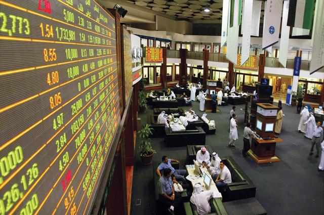 البورصات الخليجية تشهد موجة تراجع عالية تأثراً بأسعار النفط