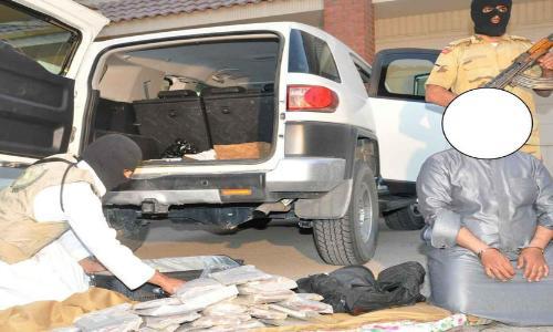 السعودية القبض على أكبر عصابة لتهريب المخدرات