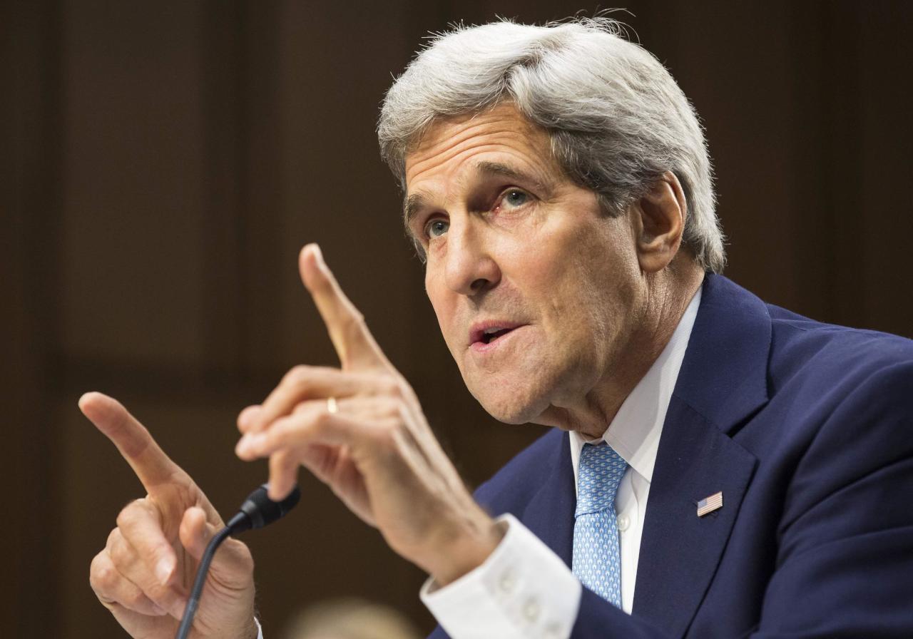 """عشية اجتماع """"فيينا"""".. كيري: توصلنا إلى """"مبادئ مشتركة"""" بشأن سوريا"""