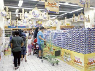 تقديرات تفيد بارتفاع مبيعات السلع الغذائية 40% خلال رمضان