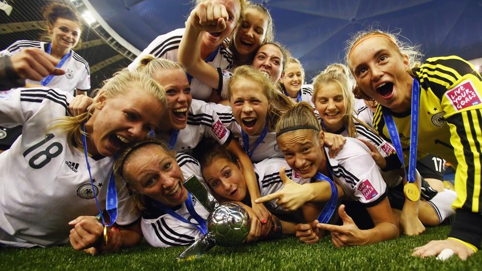 الألمانيات يحرزن كأس العالم للسيدات تحت سن الـ 20