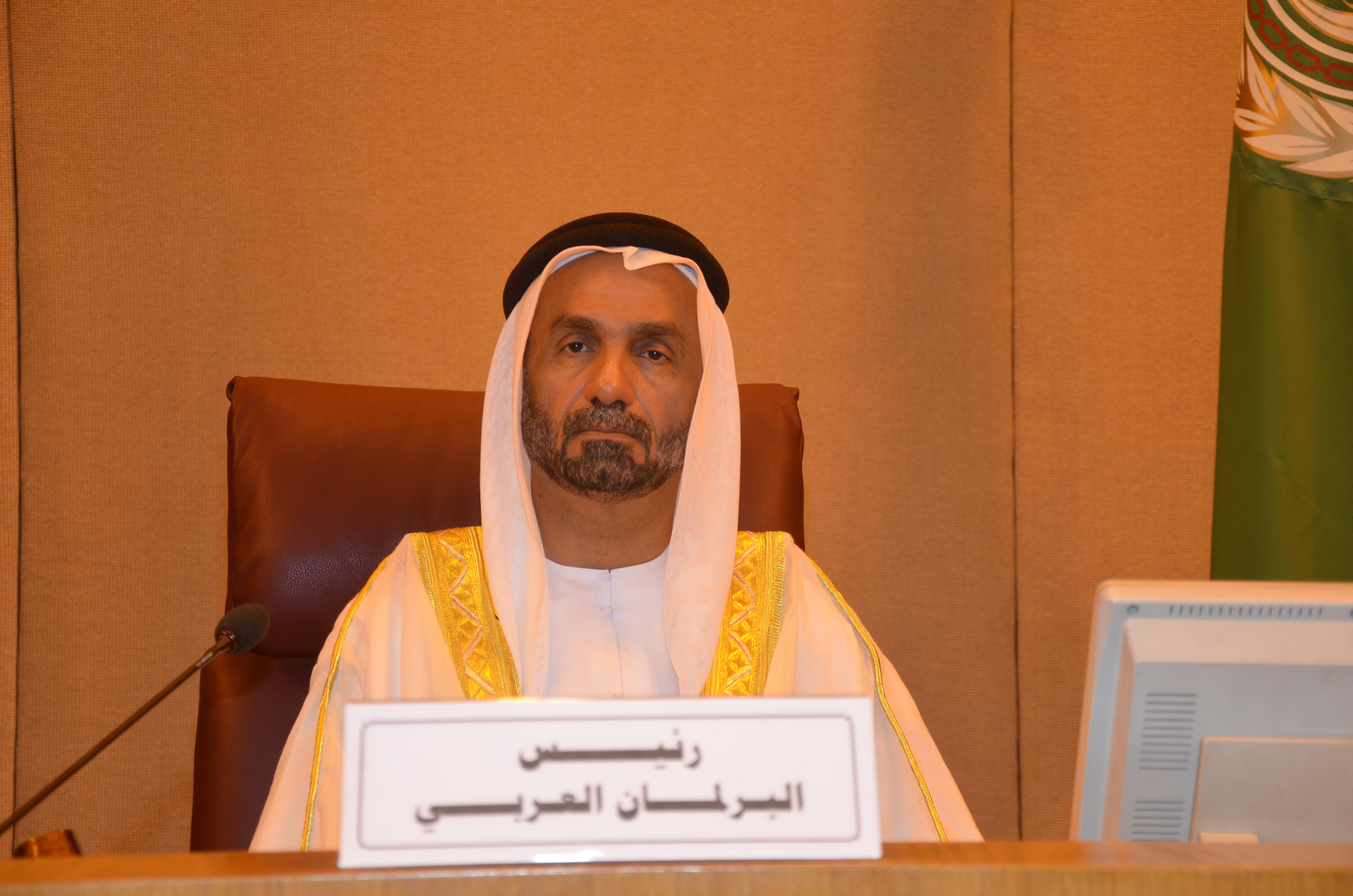 رئيس البرلمان العربي يستنكر مقتل الكساسبة