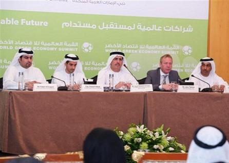انطلاق أعمال القمة العالمية للاقتصاد الأخضر غداً في دبي
