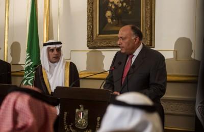 الجبير وشكري يعلنان تطابق المواقف السعودية المصرية اتجاه سوريا واليمن