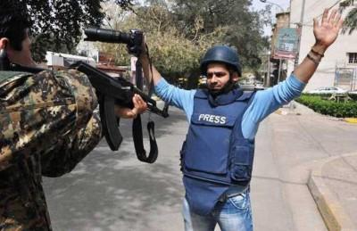 مراسلون بلا حدود: تراجع حاد لحرية الصحافة عام 2014 في العالم