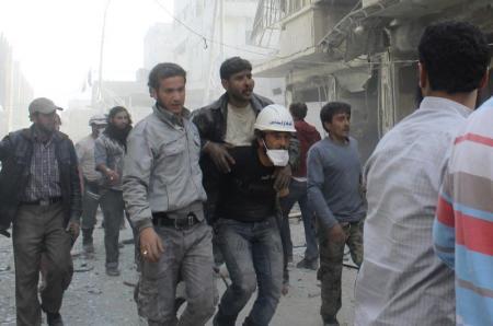 المعارضة السورية تتهم قوات الأسد باستخدام الغاز السام