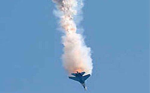 """تحطم طائرة """"إف 5"""" تابعة لسلاح الجو الملكي الأردني"""