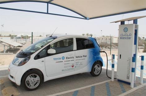 السيارات الكهربائية في دبي قريبا
