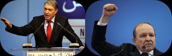 بوتفليقة يتقدم وفليس يرفض نتائج الإنتخابات