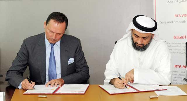 هيئة طرق دبي توقع مذكرة تفاهم لنقل السياح