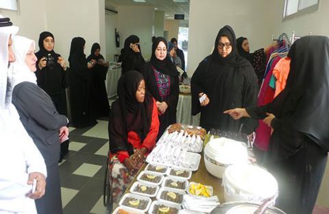 سيدات أعمال عجمان ينظمن معرض اليوم الواحد 
