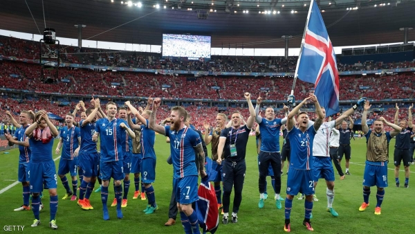 ايسلندا تطيح بانجلترا من بطولة أوروبا