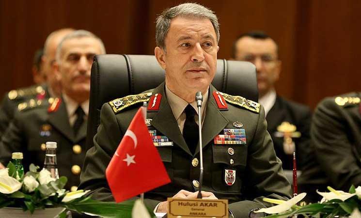 رئيس الأركان التركي يؤكد جهود بلاده بتحقيق الأمن في المنطقة