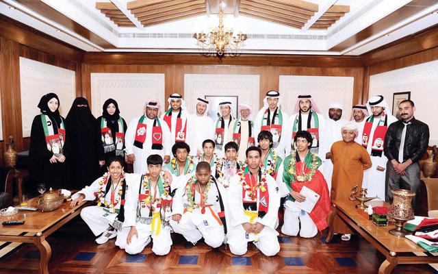 الإمارات تشارك في البطولة العربية للجودو