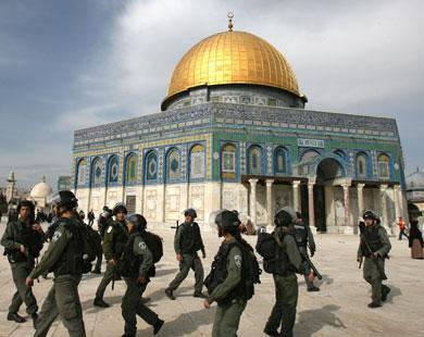 الاردن تحتج على الانتهاكات الاسرائيلية للحرم الشريف