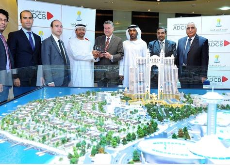"""أبوظبي التجاري يمول مشروع """"مارينا صن ست باي"""" بـ 950 مليون"""