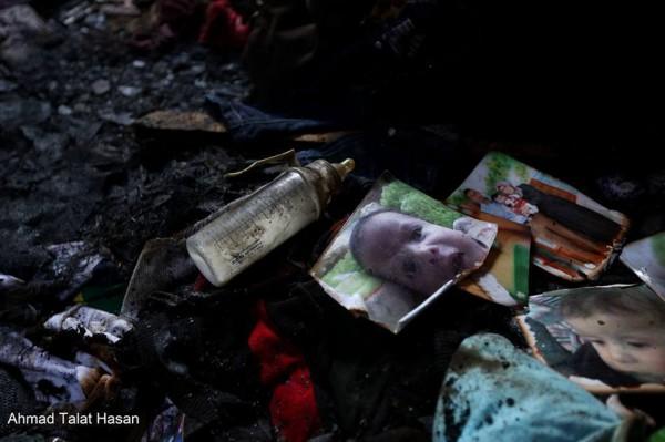 استشهاد رضيع فلسطيني حرقاً على يد مستوطنين والمقاومة تتوعد