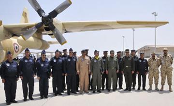 البحرين: وصول الطائرات المشاركة في التمرين الجوي الربط الأساسي 2014