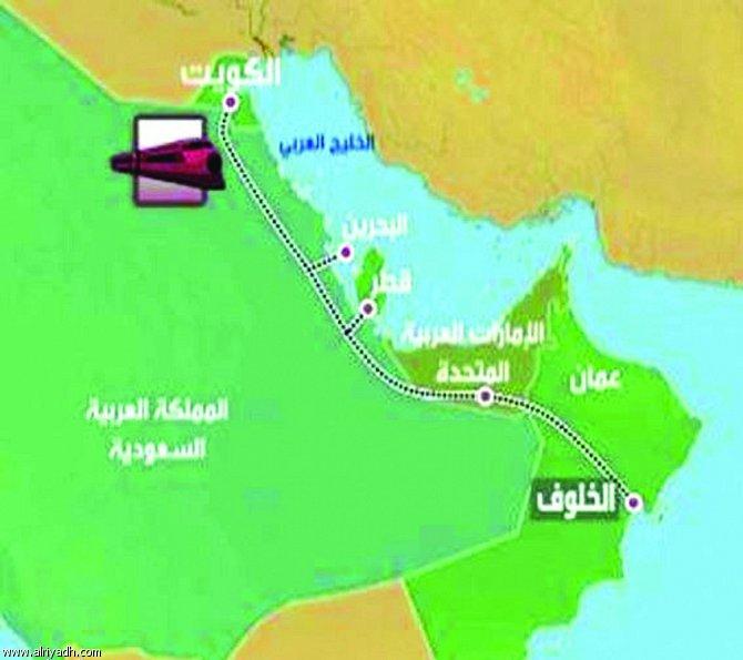 انطلاق شبكة القطار الخليجية في 2018