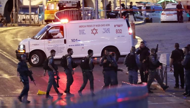إصابة 4 جنود إسرائيليين في عملية شمال القدس