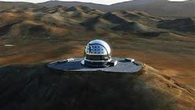 إنشاء أكبر تلسكوب بصري في العالم في تشيلي
