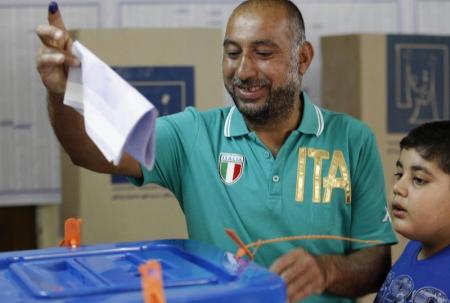 بدء التصويت في الانتخابات العراقية