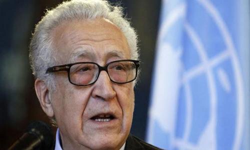 """الإبراهيمي: إجراء انتخابات رئاسية في سوريا سيقضي على مسار """"جنيف2"""""""