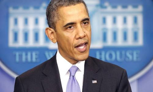 أوباما: أمريكا وحلفاؤها لن يعترفوا بضم القرم لروسيا