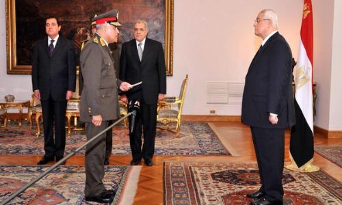 مصر: صبحي يؤدي اليمين وزيراً للدفاع