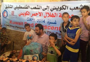 الهلال الأحمر الكويتي يقدم مساعدات بمليون دولار لمشافي غزة