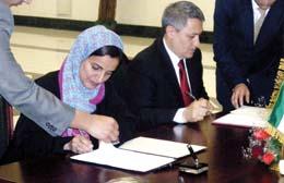 الامارات وأوزبكستان توقعان اتفاقيات للتعاون القضائي والقانوني بينهما