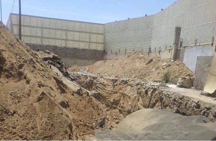 الحوثيون يحفرون نفقاً بالقرب من مبنى السفارة السعودية بصنعاء