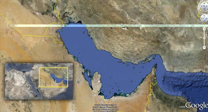 في استطلاع جوجل حول تسمية الخليج ..الفارسي يتفوق على العربي